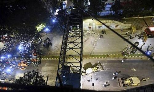 Mumbai bridge collapse kills four