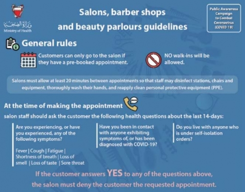 New guidelines for beauty industry