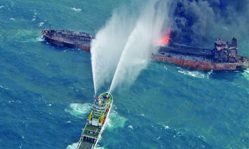 Stricken tanker drifts into Japan's eco-zone