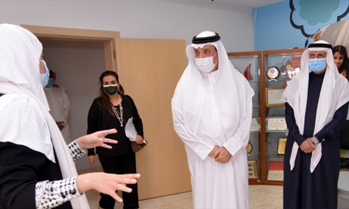Bahrain Labour Minister inspects Child Protection Centre