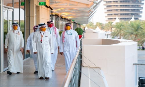 HRH Prince Salman hails 57-lap F1 night racing spectacle