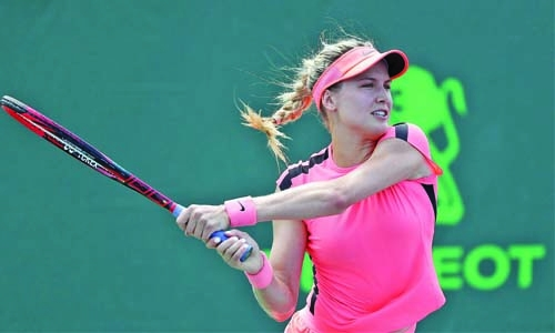 Bouchard passes first test