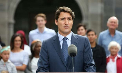 Canada's Trudeau reassures allies over spy security breach