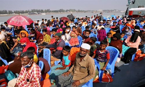 Bangladesh set to move second batch of Rohingya refugees to remote island