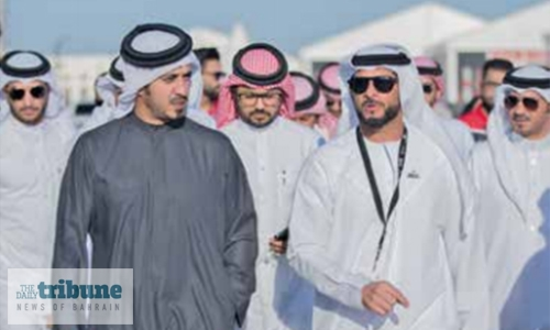 Shaikh Khalid hails Bahrain's capabilities to host big events