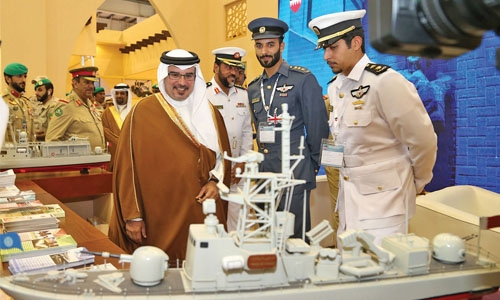 Bahrain International Defence expo opens