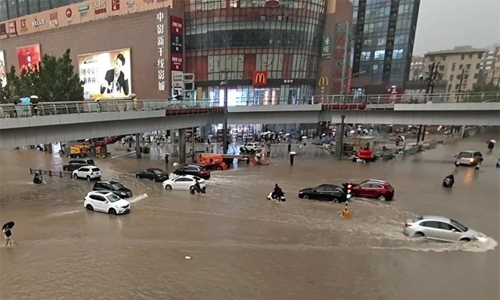 At least 16 dead in severe flooding in China