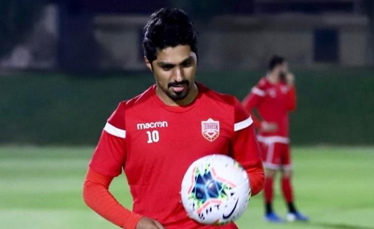 GULF CUP OVER HONEYMOON FOR BAHRAIN FOOTBALLER