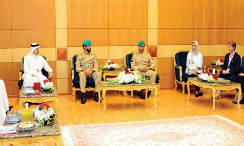 Bahrain International Defence Exhibition a huge success