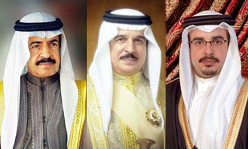Bahrain leadership condoles with Sultan Qaboos