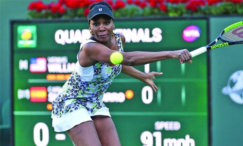 Venus rolls into Indian Wells semi