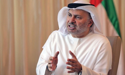 Qatar's terror list proves Quartet's claims: Gargash