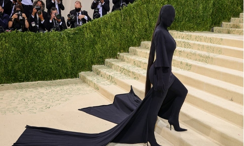 Kim Kardashian defends her 2021 Met Gala outfit after it's called distasteful amid Afghanistan crisis