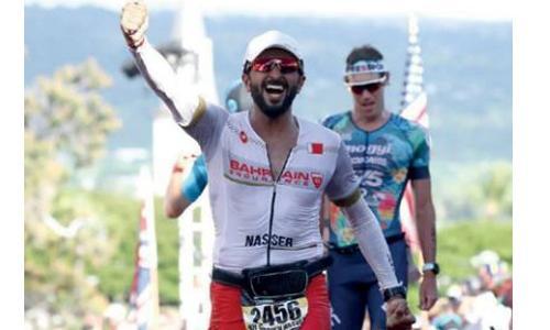 Shaikh Nasser excels in Ironman championship