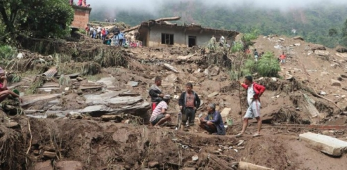 Nepal landslides kill 12, at least 21 missing