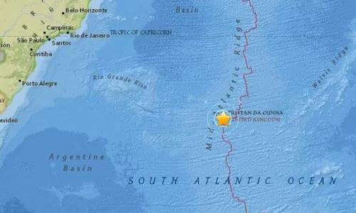 Strong 6.9 quake strikes in mid-Atlantic
