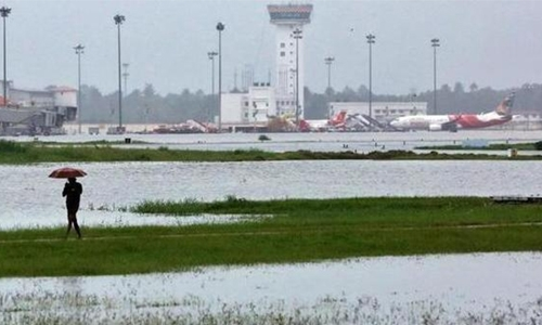 Cochin airport closed as water enters taxiway