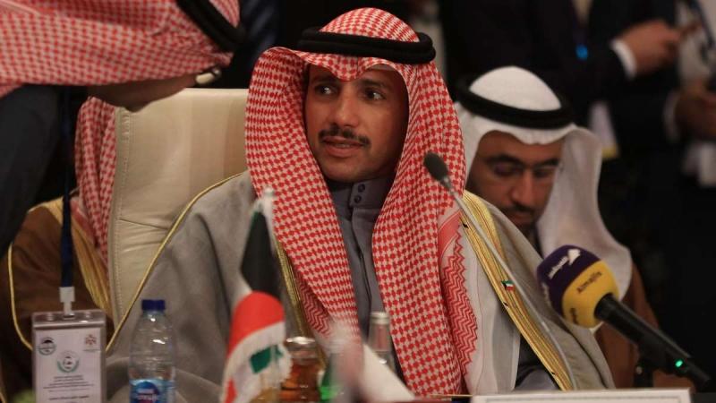 Kuwait speaker throws Trump peace plan in the bin