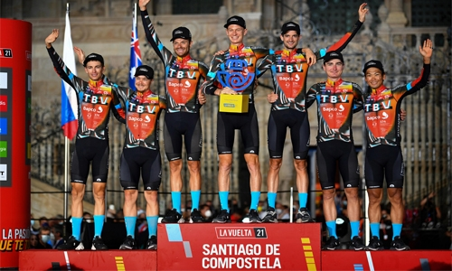 Bahrain Victorious riders shine in gruelling Spanish tour