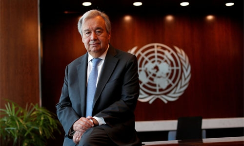 UN chief urges engagement with Taliban, inclusive Afghan government