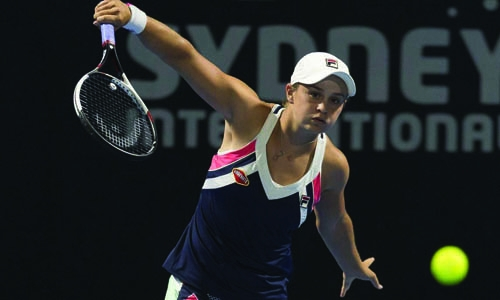 Kerber sinks local hope Barty to win Sydney title