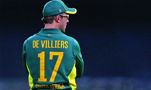 De Villiers ruled out  of first three ODIs
