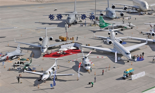 Dubai Airshow reaches new heights