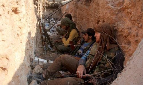 Qatar 'funding' Syria terrorists