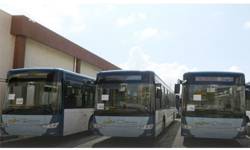 Public buses return to Tripoli after 30 yrs
