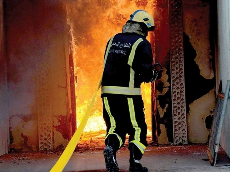 Mother and child rescued from Ma'ameer building fire