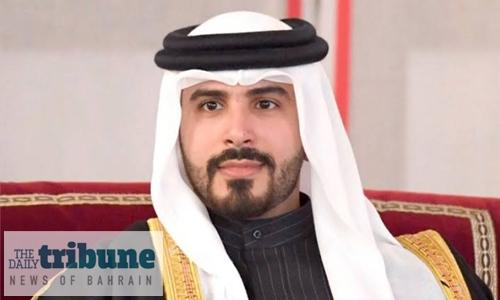 HH Shaikh Mohammed bin Salman attends the Kingdom Match Race Bahrain 2019