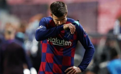 Barca's Pique calls for wholesale changes after 'shameful' Bayern defeat
