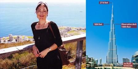 Heartbroken woman jumped from Burj Khalifa