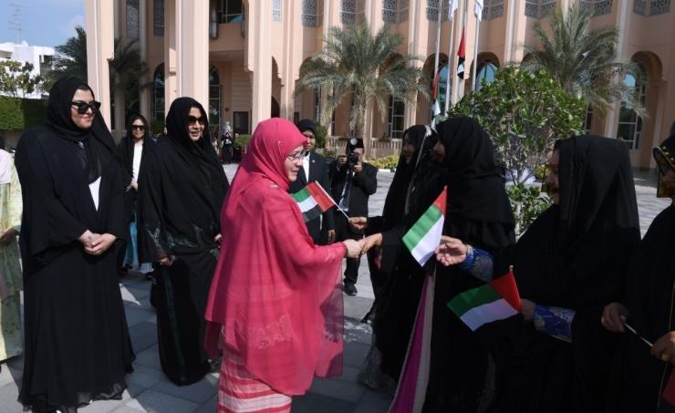 Emirati women's progress praised