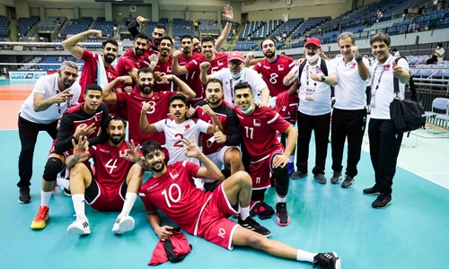 Bahrain defeat India in Asian volleyball