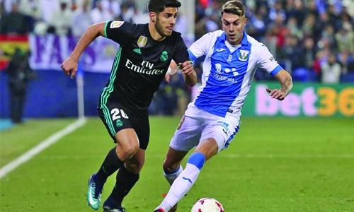 Marco Asensio's late winner lifts Real in Copa first leg at Leganes