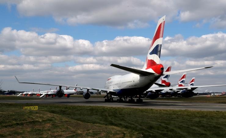 British Airways in union talks to suspend around 32,000 staff