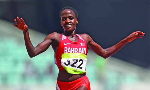 Double gold joy for Bahrain