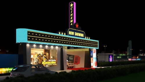 Drive-in cinema soon in Bahrain