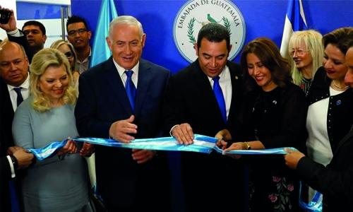 Guatemala inaugurates embassy in Jerusalem