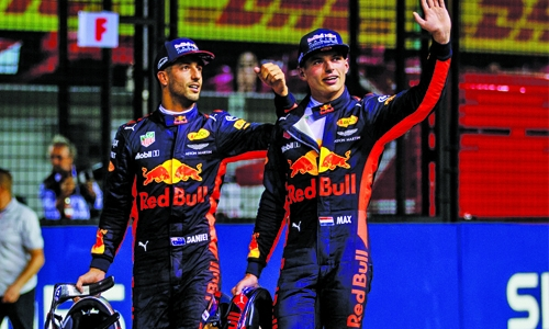 Max matured a lot, says Daniel Ricciardo