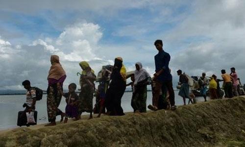 Rohingya exodus from Myanmar hits 379,000
