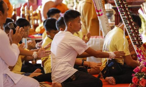 Thai boys wake up in home for first time in weeks