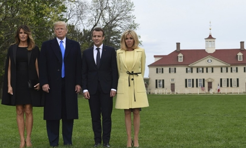 Tree symbolizing TrumpMacron friendship has died