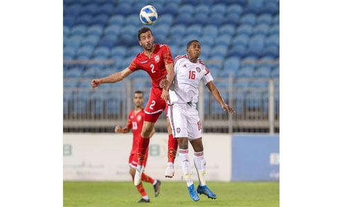 Bahrain Olympic team lose in friendly