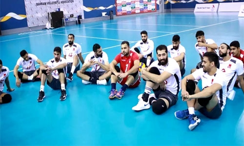 Bahrain roster set for Asian volleyball