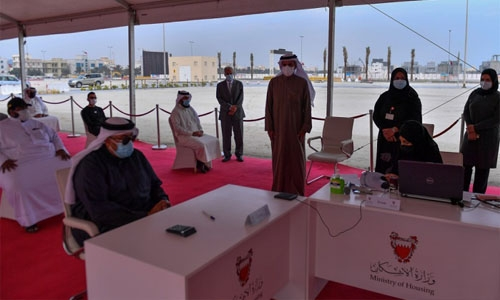 Ministry begins housing units distribution in Al Buhair