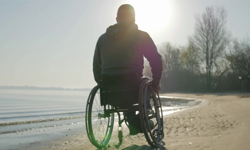 Let's support the disabled
