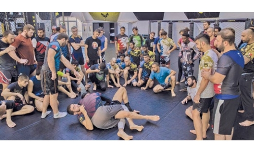 Bahrain nominated for MMA Team of the Year