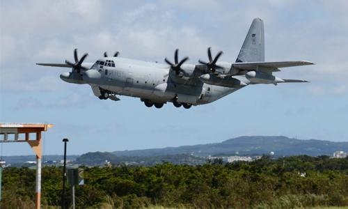 Five missing after two US jets crash